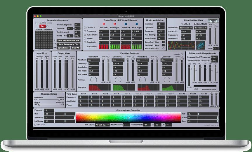 Sensorium-macbook