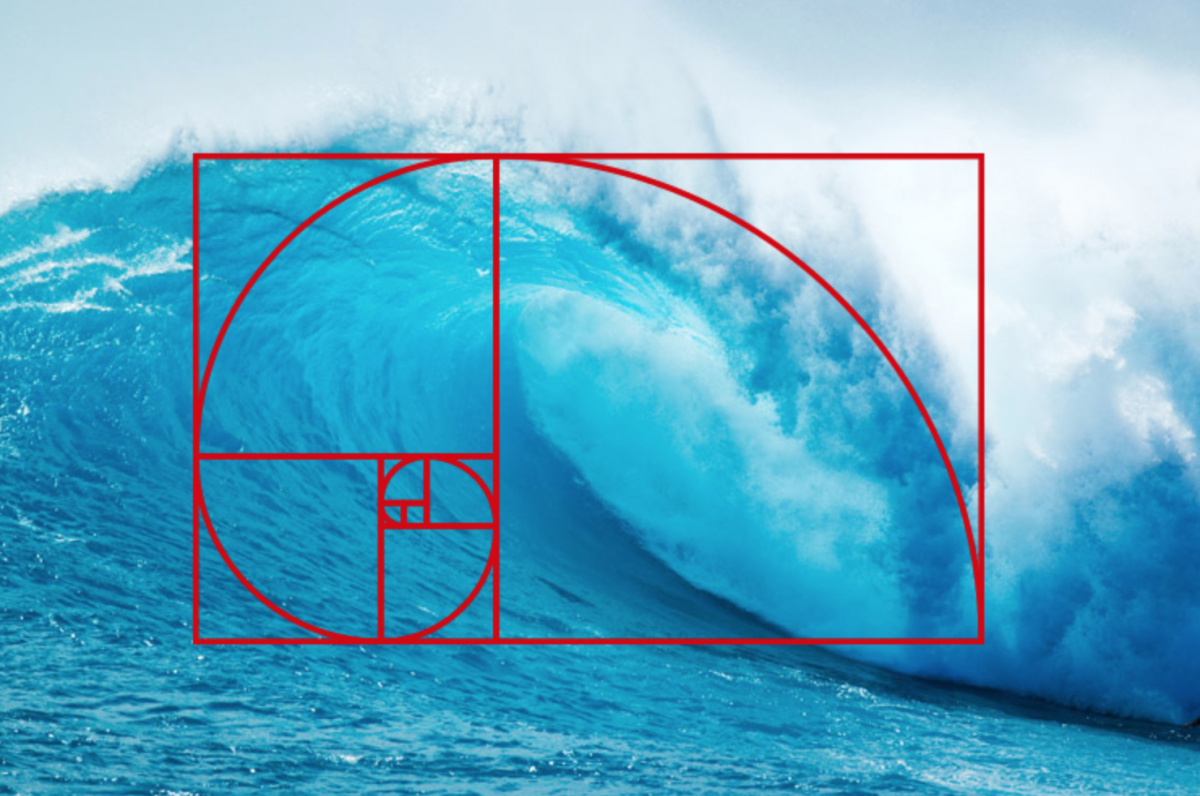 Golden Ratio Ocean Wave