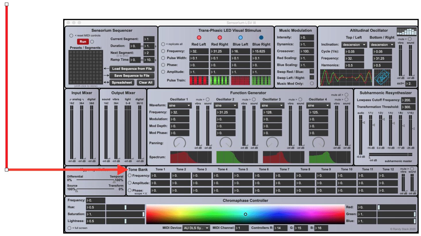 Sensorium LSV III w: Arrows