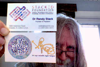 Dr Randy Stack of InnerSense, psiometrics and the STACKΞD (STACKED) Foundation Stack3d.org